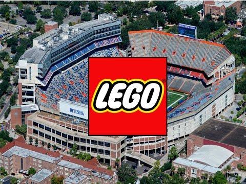 Lego Football Stadium (w/Instructions) - YouTube