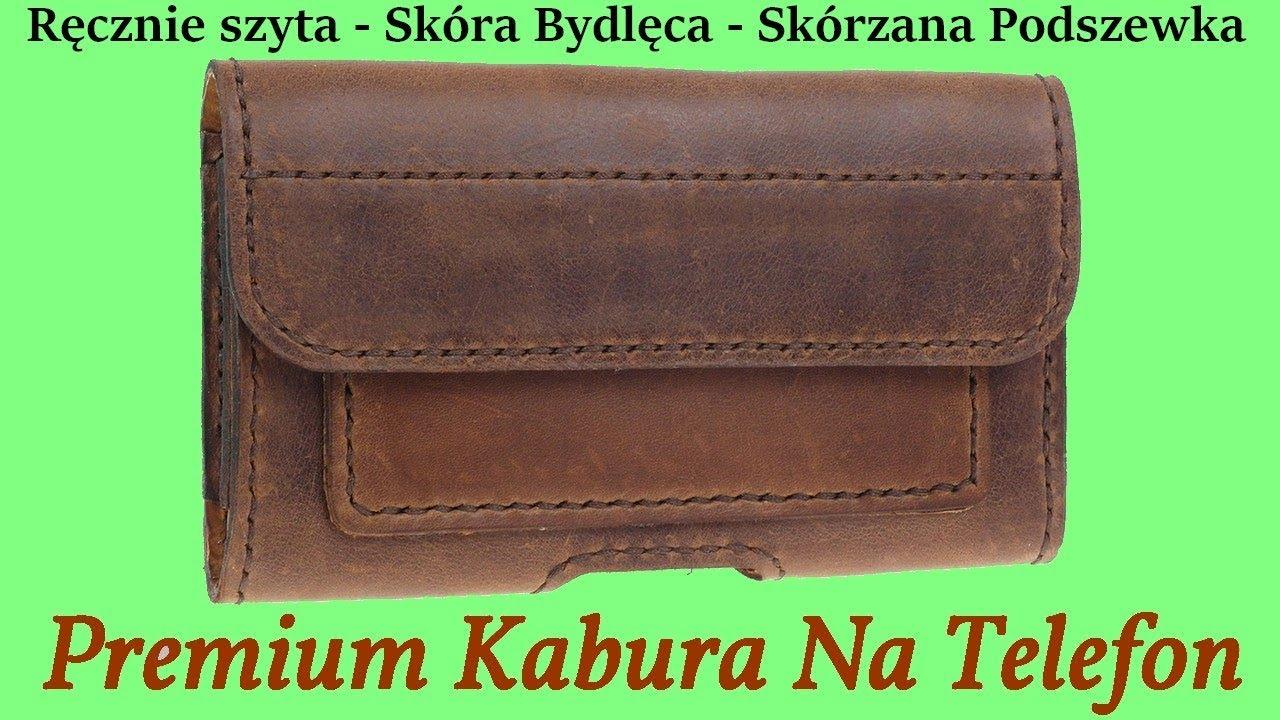 Skórzana Kabura Premium Do Telefonu Huawei P30 Pro - Na Pasek Spodni - Magnetycznie zamknięcie