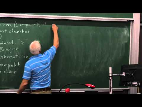 MathHistory24: Number systems and Stevin's decimals