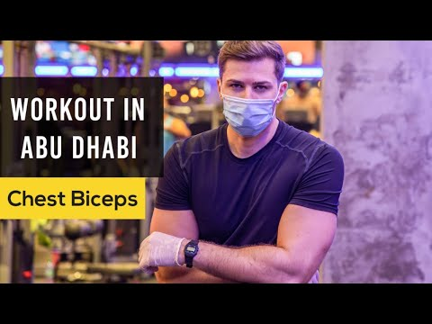 Chest & Biceps WORKOUT with Walid | Abu Dhabi WTC