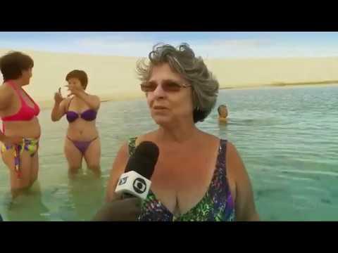 Repórter Mirante mostra as belezas de Santo Amaro do Maranhão