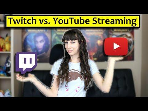 Twitch vs YouTube for Live Streaming