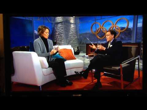 Bob Costas Drinking At 2014 Winter Olympics!