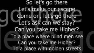 Creed-Higher with Lyrics
