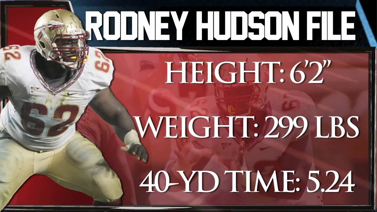 Rodney Hudson Draft Profile