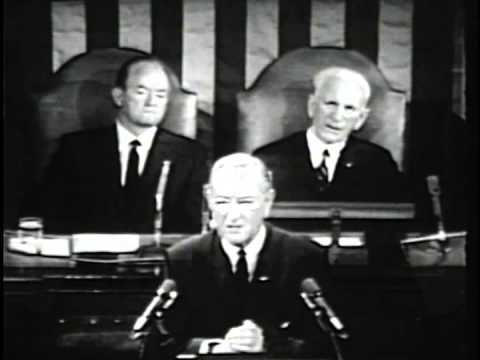 President Johnson's 1968 State of the Union Address, 1/17/68. MP200.