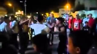 رقص في شوارع دكرنس احتفالا بالقاتل 3 يونيو