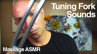 ASMR Tuning Fork Sounds Ear to Ear