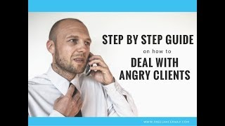 How to Handle Angry Customer/Guest in Hotel