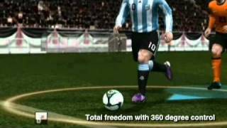 PES 2011 (Wii) Gameplay Trailer