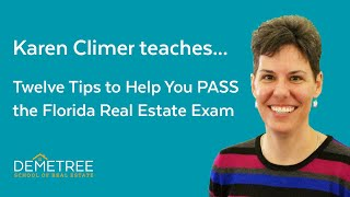 Florida Real Estate Exam – Twelve Simple Tips To Help You Pass The FIRST Time (2019)