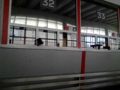 Как объявляют поезда на Курском вокзале.