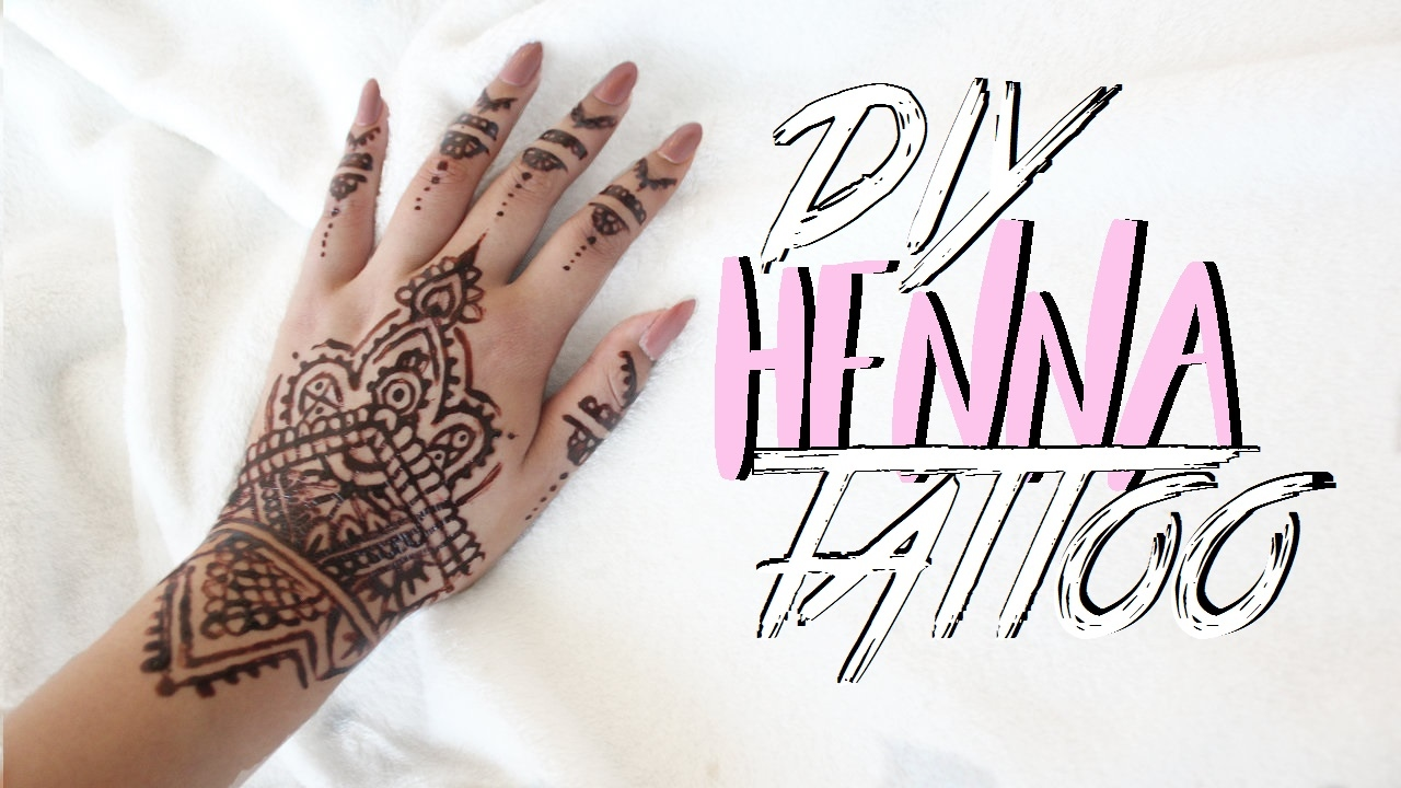 Diy Henna Tattoo Ink Without Henna Powder: Diy Henna Tattoo (Without Henna Powder)