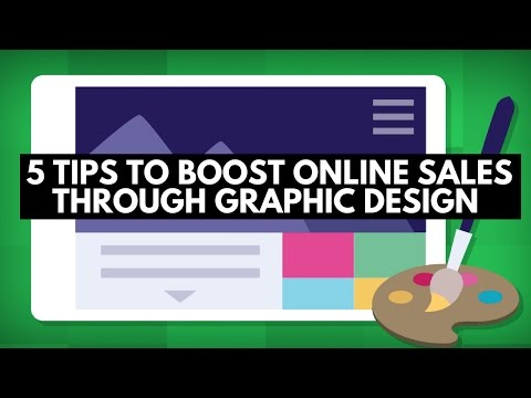 5 tips to boost online sales through graphic design
