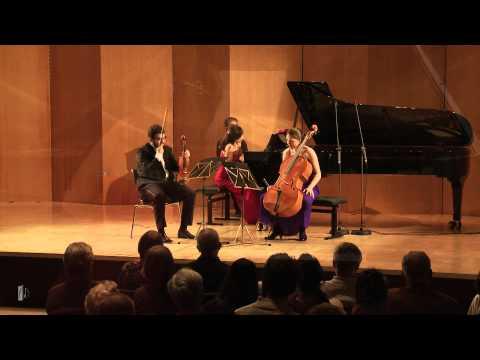 Trio Gaspard   F. Mendelssohn-Bartholdy: Klaviertrio Nr. 1 d-Moll op. 49