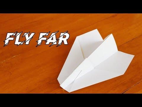 Pesawat kertas yang terbang jauh, bagaimana cara membuat pesawat kertas yang terbaik