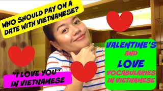 """""""I LOVE YOU"""" in Vietnamese