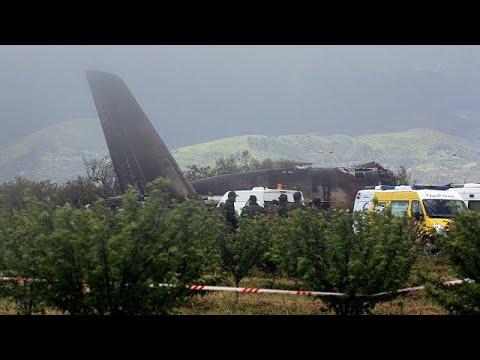 L'Algérie en deuil après le crash d'un avion militaire