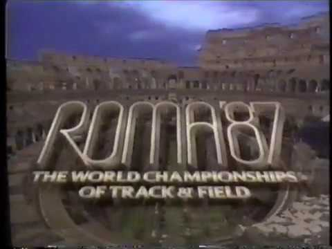 1987 IAAF World Track and Field Championships - Day 1