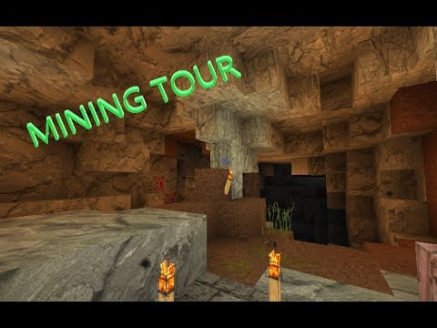MINING TOUR IN MINCECRAFT