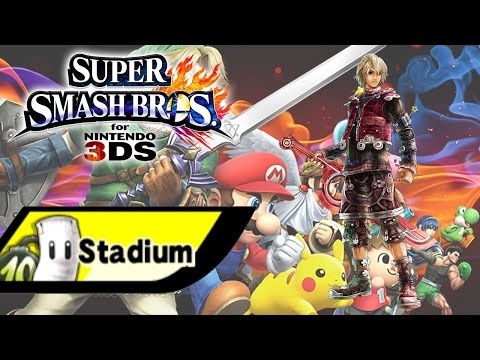 Super Smash Bros for 3DS - Stadium - Shulk