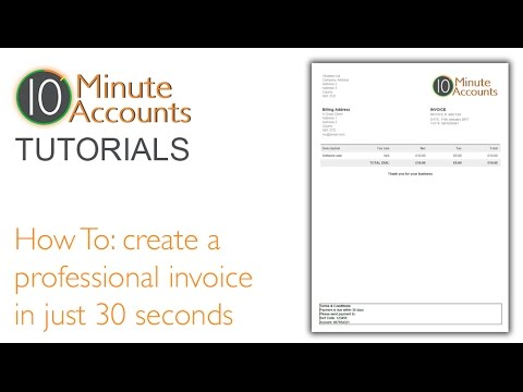 Usps Certified Mail Return Receipt Pdf How To Create A Professional Invoice In  Seconds Watch This  Express Invoice Nch Excel with Invoicing Templates Excel How To Create A Professional Invoice In  Seconds Watch This Tutorial Hsbc Invoice Finance Uk Ltd