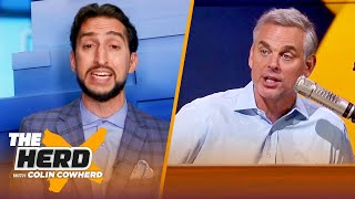 I like Melo \u0026 Russ on the Lakers; you win with old guys - Nick Wright I NBA I THE HERD