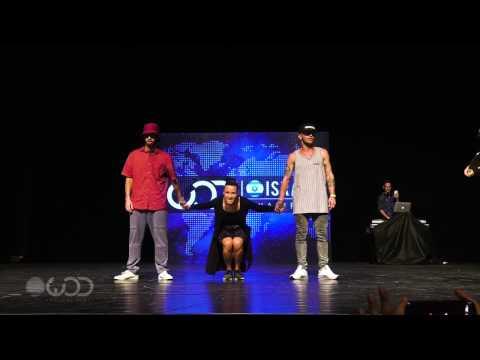 Aladdin vs Smoke   All Styles Battle Finals   World of Dance Israel 2016   #WODIL16
