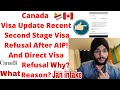 Gambar cover Canada Visa Update|Second Stage Canada Visa Refusal After AIP Why? And Direct Visa Refusal Reason?