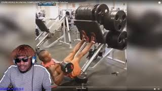 STUPID PEOPLE IN GYM FAIL COMPILATION || 43 Funniest Workout Fails Ever REACTION