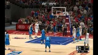 NBA 2K14 PC: Los Angeles Clippers vs Dallas Mavericks full highlights