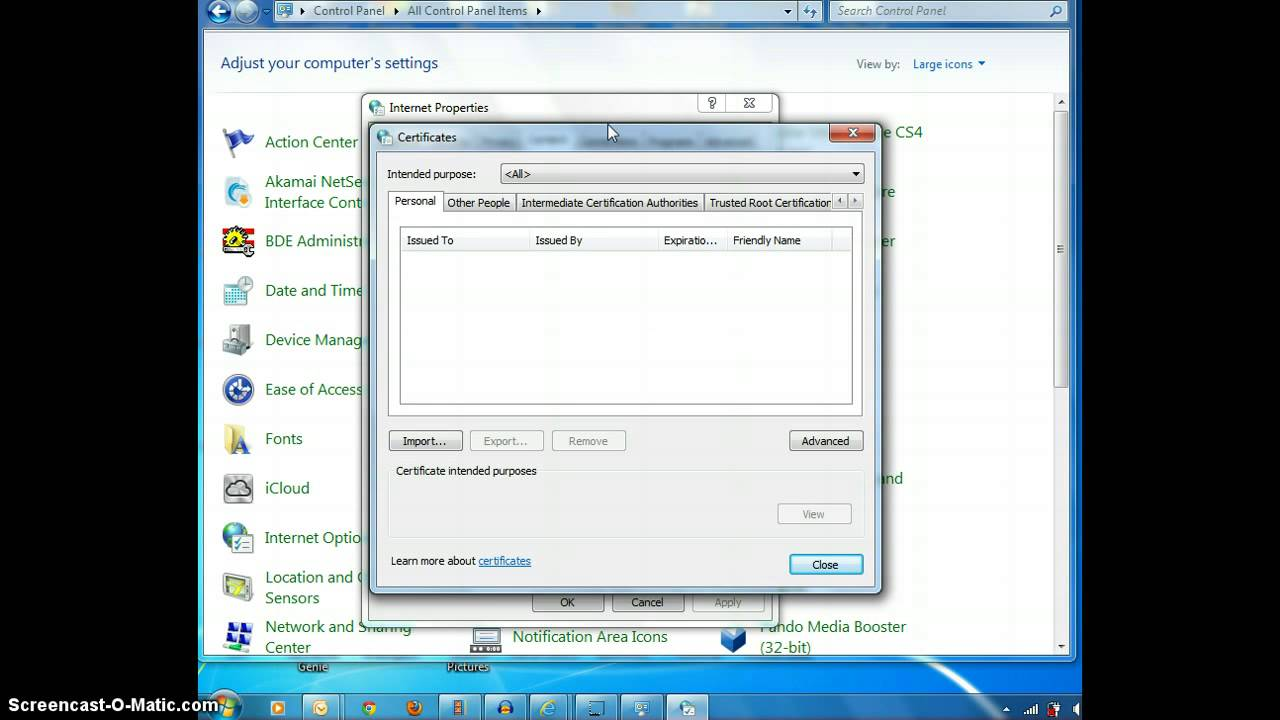 Zscaler Certificates Check