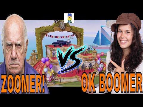 CREATIVE DESTRUCTION (BOOMER VS ZOOMER)