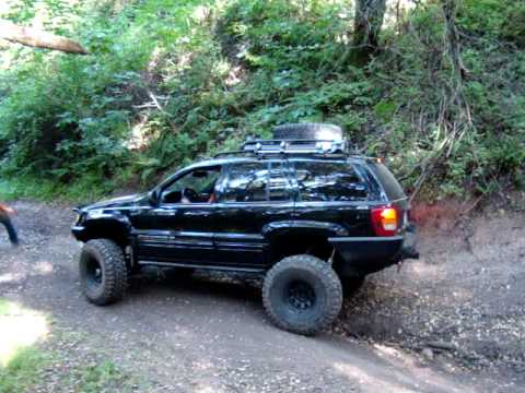 Lifted Jeep Cherokee >> Jeep WJ Hollister Hills - YouTube