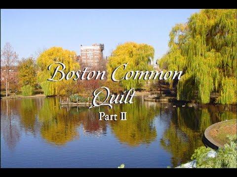 """""""Boston Common Quilt Part 2"""" Episode: 2307"""