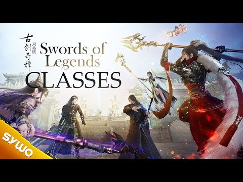 New MMORPG Swords Of Legends | Classes Overview