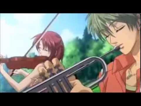 52.F Gavotte trumpet & violin duet La corda d'oro primo passo out track 金色のコルダ