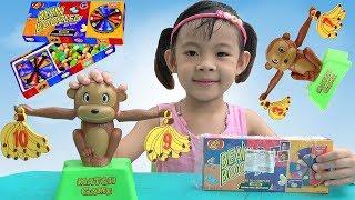 Trò Chơi Thông Minh Con Khỉ Học Toán Và Ăn Kẹo Thối ❤ AnAn ToysReview TV ❤