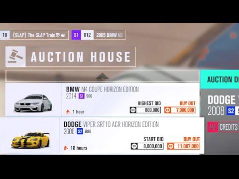 Forza Horizon 3 - Exploring NEW Auction House! + RARE Cars/Horizon Edition!!??