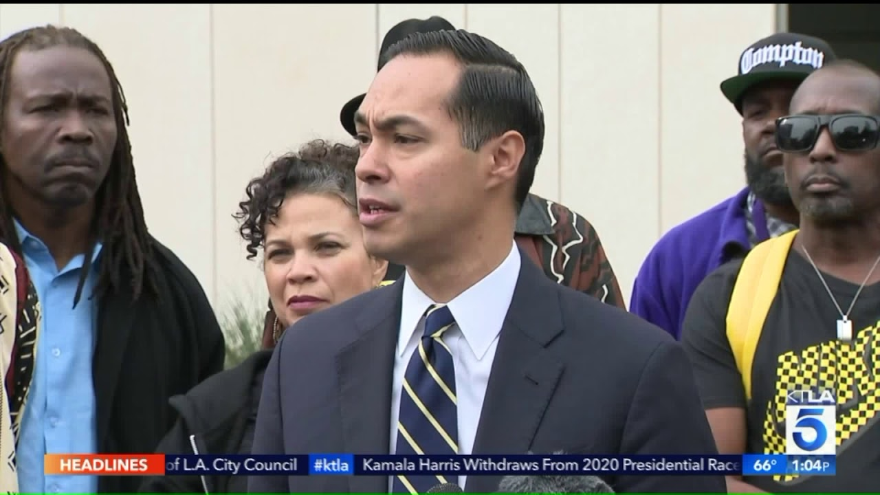 Black Events In Los Angeles 2020.Julian Castro Joins Black Lives Matter Event In Los Angeles