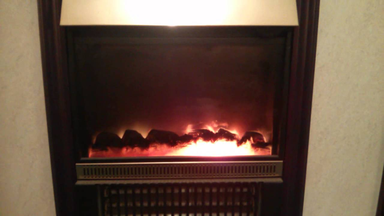 dimplex faulty flame effect youtube
