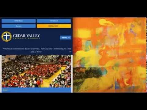 Cedar Valley Catholic Schools Responsive Website
