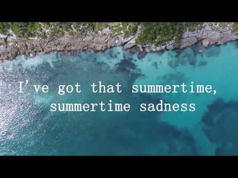 Lana Del Rey vs Cedric Gervais - Summertime Sadness (Lyric Video)