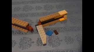 how to build a lego knife