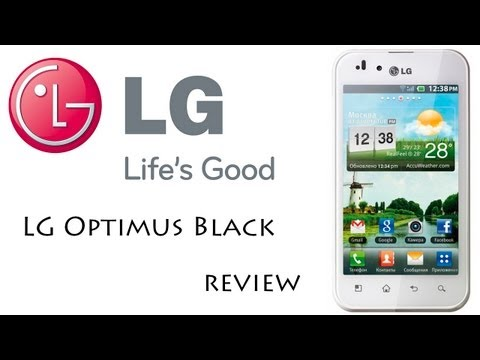 Обзор LG Optimus Black (LG P970)