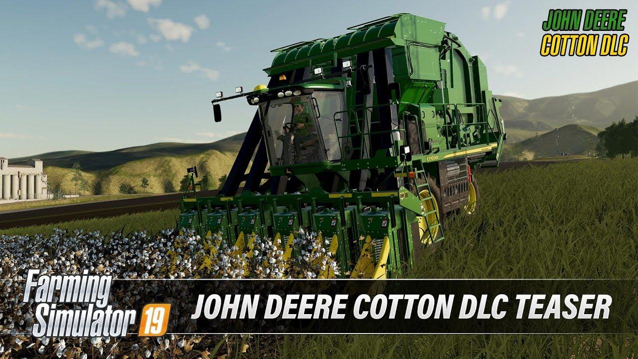 Farming Simulator 19 | John Deere Cotton DLC Teaser