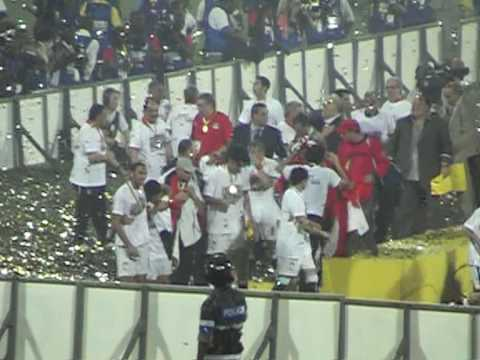 CAN2008 Final - Cameroon v Egypt (Post-Match) - Accra, Ghana