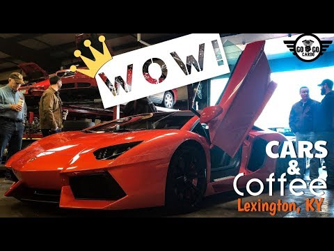 Bringing the CARS to the Coffee! (Lambos, Mopars, Ferrari's OH MY!)
