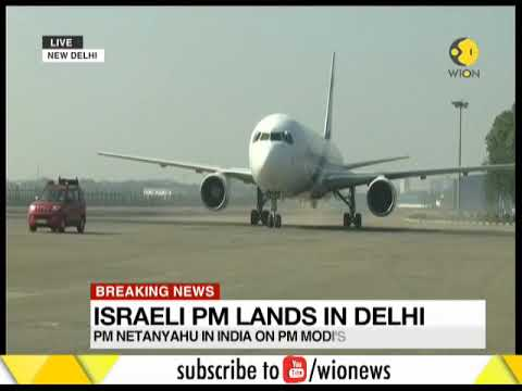 Breaking News: Israeli PM lands in Delhi