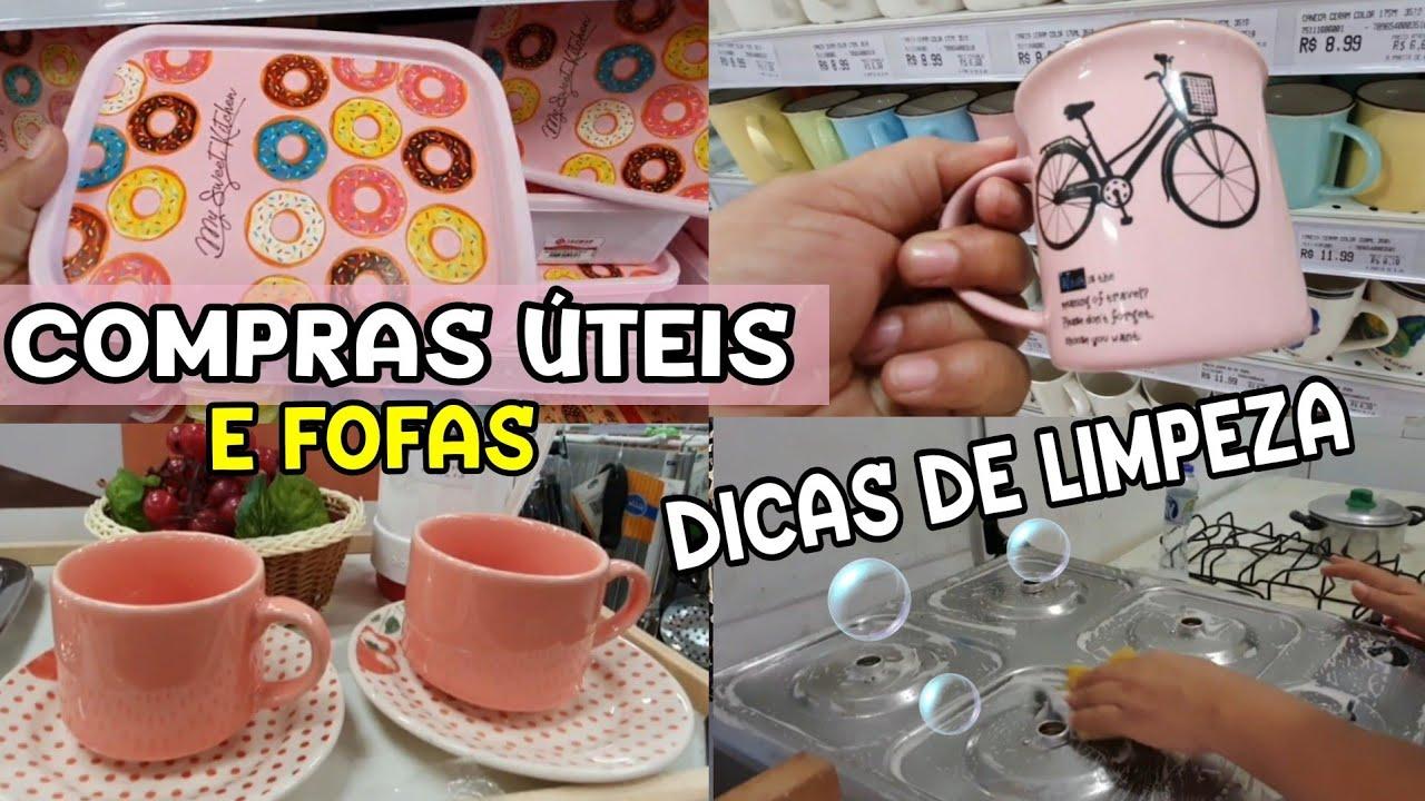 COMPREI O QUE FALTAVA PRA CASA DA MÃE + DICAS DE LIMPEZA POR CASA LIMPA
